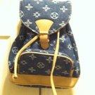 Denim Style Backpack