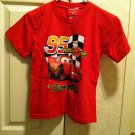 Disney ''Cars Red Lighting McQueen Tee -Size 6/7
