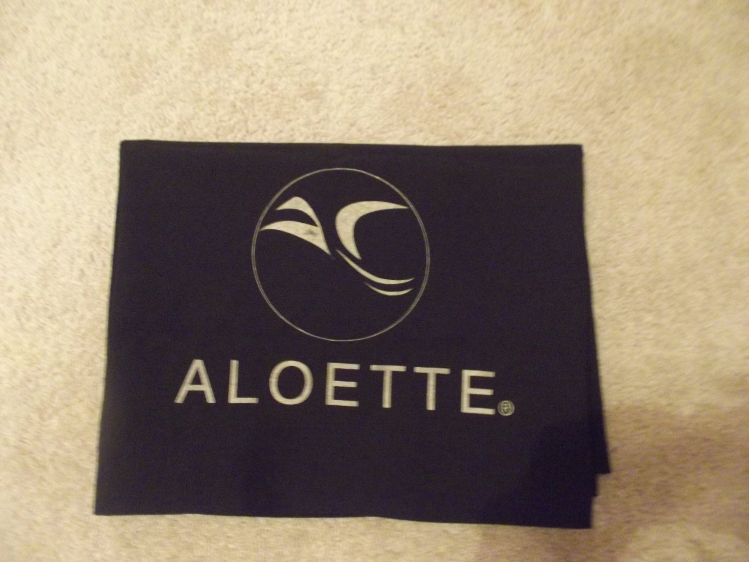 Black Aloette Table Cover