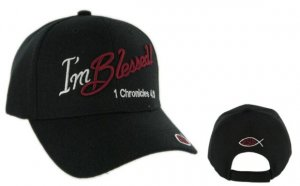 """I'M BLESSED"" CHRISTIAN CAP"