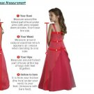 5 Stars Store Flower Girl Dresses Measure Guide Chart