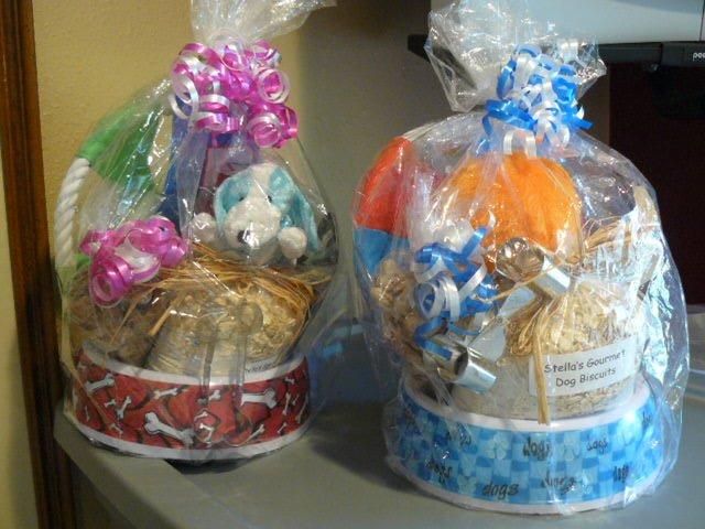 Doggie Gift Baskets