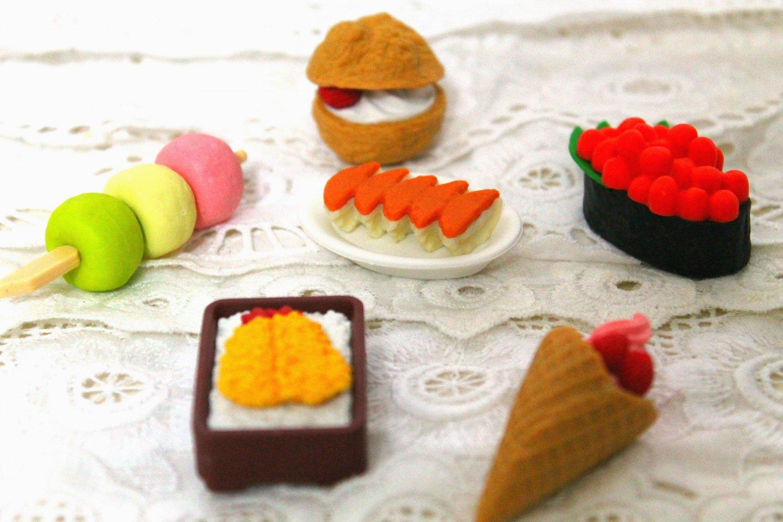 Japan Kawaii Food Erasers- Surprise Set