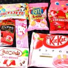 Strawberry Surprise Package: Full of Japanese Candy and Snacks!