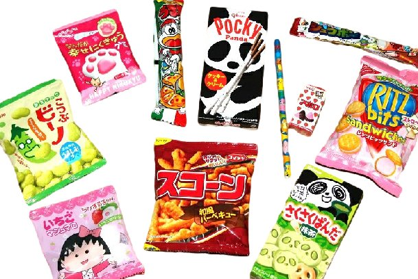 Chibi Cool Japan Surprise Package: candy and goods (1 month subscription)