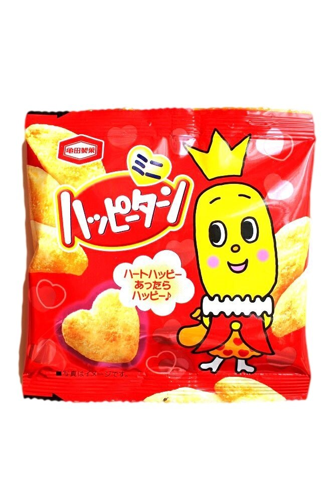 Happy Turn Sweet Rice Crackers Mini Pack- Japan Snacks