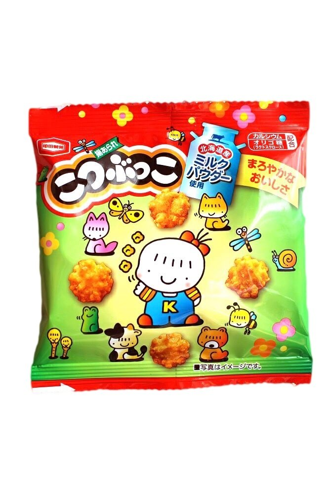 Kotsubukko Rice Crackers Mini Pack- Japan Snacks