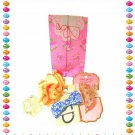 Kawaii Hair Accessories Gift Set (Assortment of Hair Ties and Clips)- Cute Japan Accessories