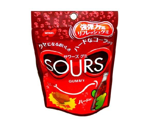 Sours Cola Hard Gummi- Japan Candy Nobel