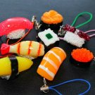 Assorted Sushi Key Chains/ Phone Charm- Japan Kawaii Key Chains/Phone Charms