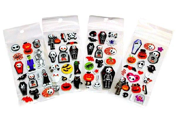 Halloween Kawaii Mini Sticker Sheets Set- Japan Kawaii Stationery