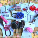 Kimono and Yukata Hair Accessories Gift Set (Surprise Hair Ties Clips)- Kawaii Japan