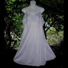 PASTEL LAVENDER PURPLE Vintage SLIP Lacy Full Dress CREAMY SOFT Nylon + FREE PINK SLIP Sz 42 L/XL!