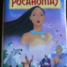 Disney Pocahontas Walt Disney's Masterpiece VHS Good DVD