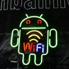 TANBANNER Neon Sign ANDROID ROBOT WIFI LIGHT N117