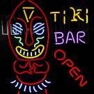 TANBANNER Neon Sign TIKI BAR OPEN NEON LIGHT N152