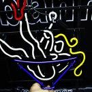 TANBANNER Neon Sign RED girl glasses NEON LIGHT N101
