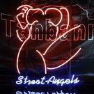 TANBANNER Art NEON STREET ANGLE UNDER NEON LIGHT N169