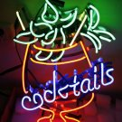 TANBANNER Art Neon Cocktails sign Ninja bracket N100F