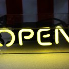 TANBANNER OPEN Glass Neon Sign Light D001Y