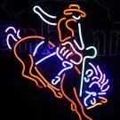 Tanbanner Las Vegas Cow Boy Bar Art Neon Light N167