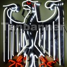 Tanbanner Die Deutsche flagge neon - Schilder Silver Eagle Sign German neon sign