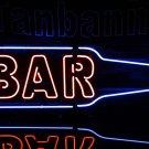 TANBANNER Neon Sign Light Bottle Bar Sign N222