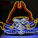 TANBANNER Pirate Captain skull tattoo Neon Sign N181