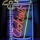 TANBANNER Art Neon Cocktails sign Ninja bracket N100E