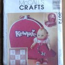 McCall's Pattern 3072 Kewpie Doll and Accessories NIP 2000