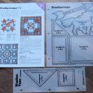 WEATHERVANE Spinning Spools Quilt Pattern w/Template