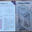 TWINKLE TWINKLE Spinning Spools Quilt Pattern w/Template