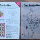 FANCY DRESDEN Spinning Spools Quilt Pattern w/Template