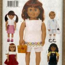 "Butterick Pattern 3491 18"" Boy and Girl Doll Pattern MIP"
