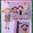 Simplicity Pattern 1900 18 Inch Fabric Doll and Clothes NIP