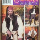 Simplicity Pattern 0627 Mens Pirate Costume Size AA  2004 NIP