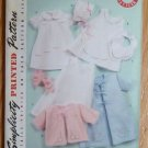 Simplicity Vintage Reproduction Pattern 2900 Baby Layette Size A