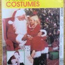 Vintage McCall's Pattern 8992 Santa Claus Costume Bag Doll Size Ex-lg