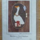 Christmas Goose Machine or Hand Applique Pattern NIP