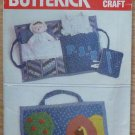Vintage Butterick 4950 Quilted Travel Bag Doll Pattern Uncut