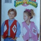Vintage MIGHTY MORPHIN POWER RANGERS Children's Vests NIP