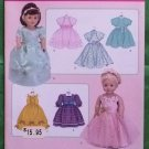 Simplicity 3547 Doll Clothes Pattern 18 Inch Dolls Gowns Dresses MIP
