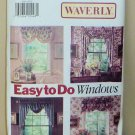 Butterick Pattern Home Decor 5946 Waverly Window Toppers NIP