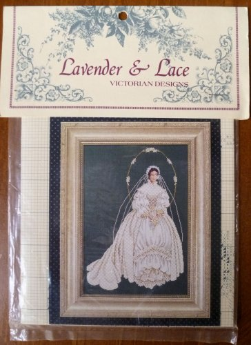 Lavender & Lace Marilyn Leavitt-Imblum I Thee Wed Cross Stitch Pattern