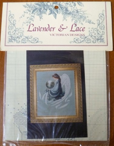 Lavender & Lace Marilyn Leavitt-Imblum Earth Angel Cross Stitch Pattern