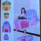Simplicity Pattern 8033 Rag Quilts Acorn House Castle Child & Dolls Sizes