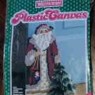 Disilefink Designs Plastic Canvas Old Fashioned Santa Door Stop Kit NIP