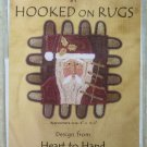 Punchneedle Embroidery Hooked on Rugs Santy Claus Pattern 706