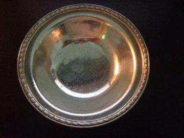 Vintage Intsilver Company Silver Soldered 6 Missouri Pacific railroad bowl