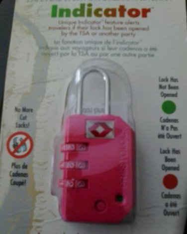 Indicator combination lock